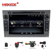 Android 8.1 1024X600 7inch 2din Car GPS DVD player for Opel Astra h g Zafira B Vectra C D Antara Combo Radio audio