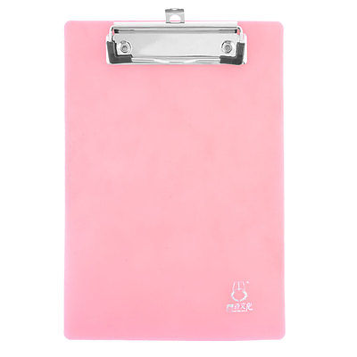 School Office A5 Documents Record List Files Papers Clipboard Pink