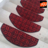 Chromophous brief glue slip resistant stair mat strode pad stair carpet