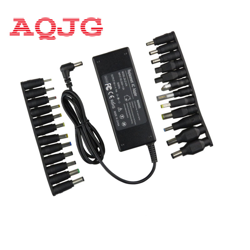 18.5V 19V 19.5V 20V 4.74A 90W Universal Power Adapter Charger For Acer Asus Dell HP Lenovo Samsung Sony Toshiba Laptop DC jack de li bao 19v 4 74a 5 5 x 2 5mm laptop ac adapter for asus lenovo toshiba hp black 100 240v