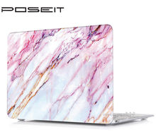 купить Marble Plastic Hard Case Laptop keyboard Case Cover For Hard Case Cover Macbook Pro Air 11 12 13 15 inch with/out Touch Bar по цене 719.05 рублей