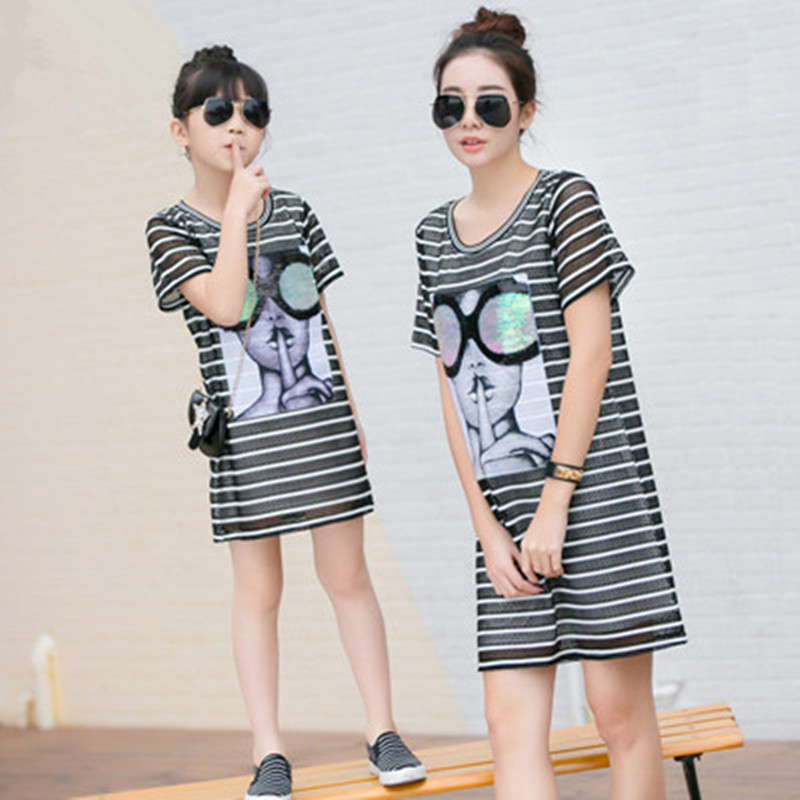 Buy Mom And Daughter Dress Plus Size And Get Free Shipping On