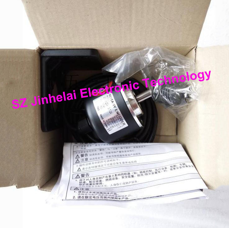 100% New and original AUTONICS E40S6-1024-3-N-24 Rotary encoder 12-24VDC цены