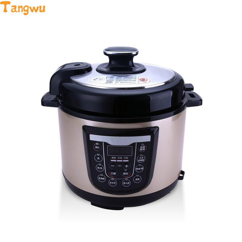 Free shipping Double bravery 5 electric pressure cooker homeleader 7 in 1 multi use pressure cooker stainless instant pressure led pot digital electric multicooker slow rice soup fogao
