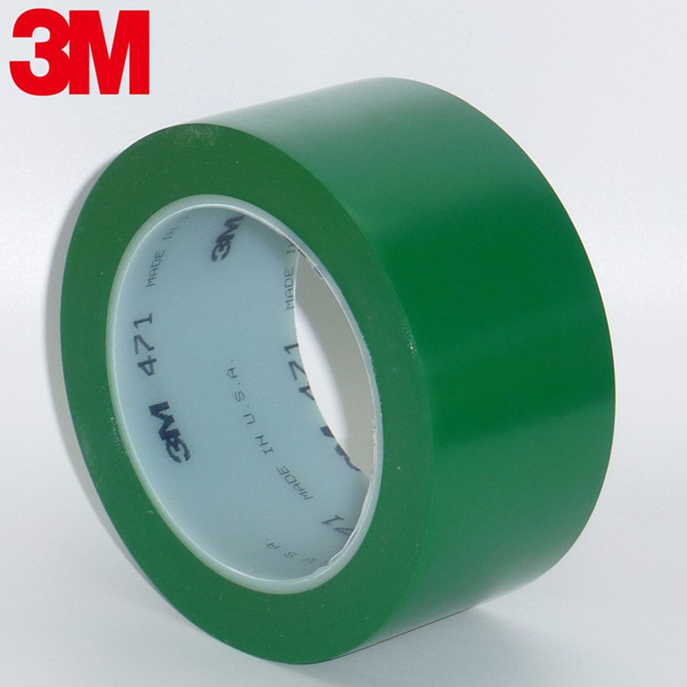 3M471 floor tape Automotive paint warning tape waterproof line tape Tearing no trace anti skid high temperature resistance 108ft цена 2017