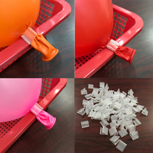 200psc New Birthday Wedding Party Decoration Practical Clip Seal LaTeX Balloon Accessories Wholesale ADC060