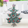 New Fashion Christmas Tree Luxury Keychain Key Chain & Key Ring jewelry For childen & family Christmas Gift