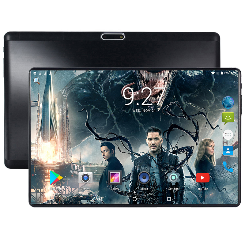 2019 New 10 inch tablet Android 7.0 Octa Core 4GB RAM 64GB ROM 8 Cores 1280*800 IPS 2.5D Glass Screen GPS Tablets 10.1 Gifts(China)