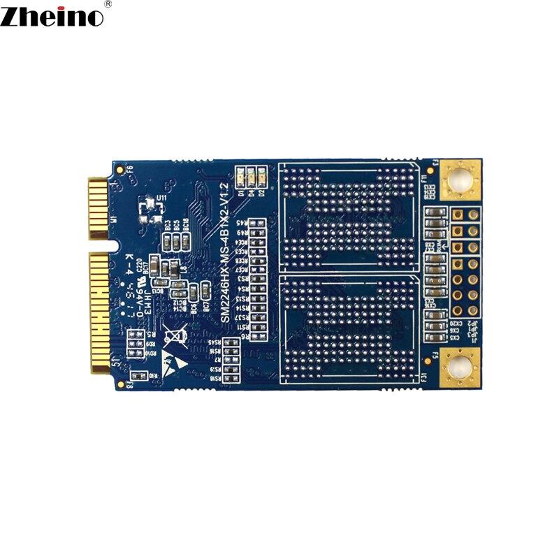 Zheino MINI SATA M1 mSATA3 128GB SSD SATA3 Internal Solid State Drive 2D MLC Flash Storage Devices Hard Drive For Laptop MINI PC