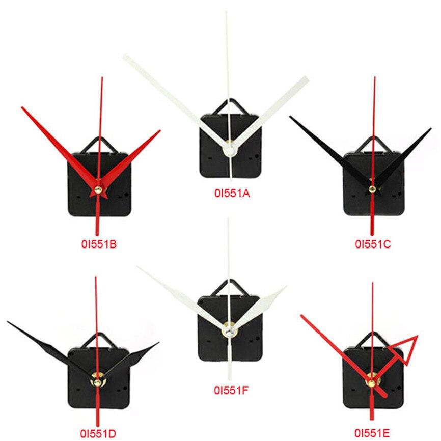 Relógio de quartzo movimento mecanismo com gancho peças de reparo diy estilo mudo e alta precisão movimento de relógio de quartzo 55x55x16mm