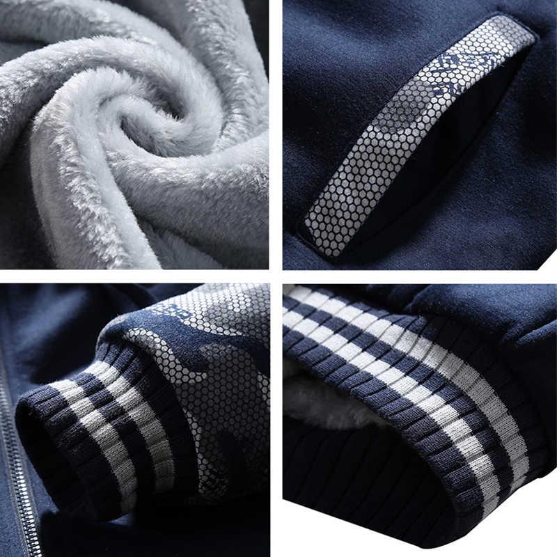 Спортивная одежда для мужчин s комплект Зимние Повседневные спортивные костюмы мужские толстовки с капюшоном наборы новая брендовая одежда 2 шт. теплый толстый свитшот + брюки спортивный костюм для мужчин