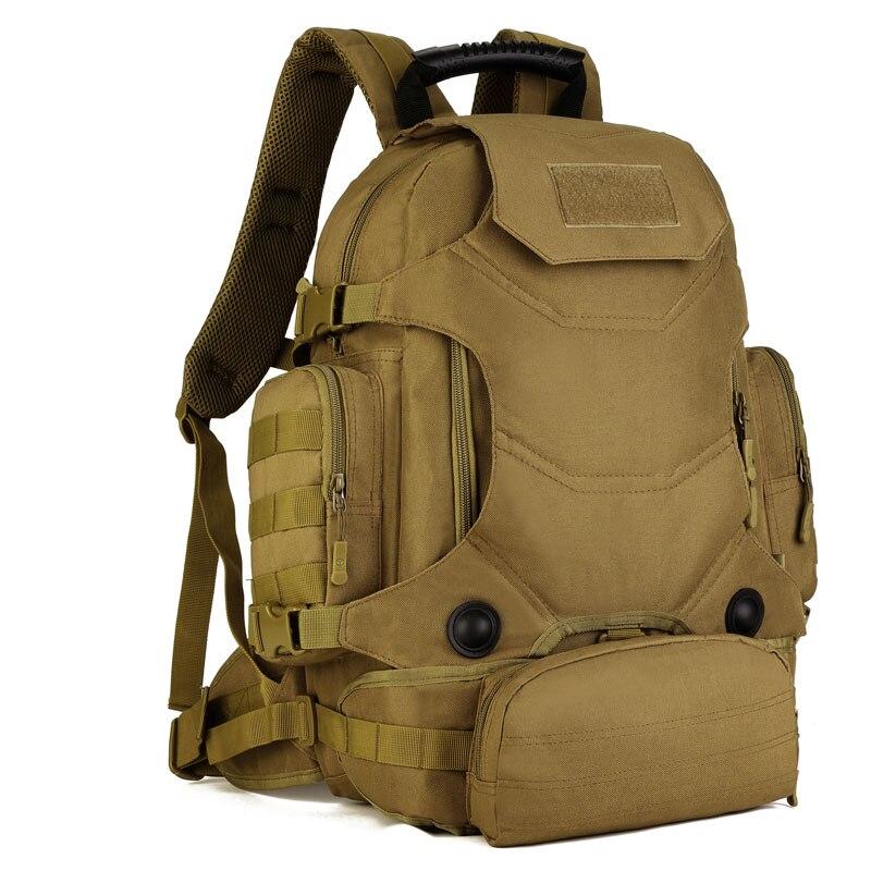 Protecteur Plus MOLLE amovible taille sac cadeau gratuit 2018 nouvelle école grand sac à dos étanche 40L spécial randonnée tactique Gear