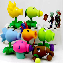 25 styles multicolor Plants vs Zombies PVC Action Figures PVZ Plant + Zombies Figures Toys for kids christmas gift(China)