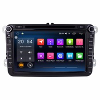 8 Quad Core 1024 600 HD 2Din Android 4 4 4 Car Audio For Volkswagen VW