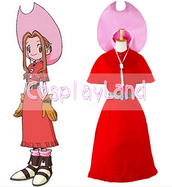 Digimon Adventure Cosplay Costume Hot Anime DA Girl For Woman Costume Custom Made Adult Halloween Party Cosplay Costume