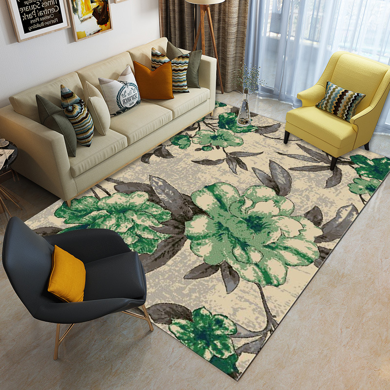 Nordic Style 3D Printed Carpets For Living Room Tea Table Antiskid Mat Modern Bedroom Super Large Size 300*400cm Rugs And Carpet