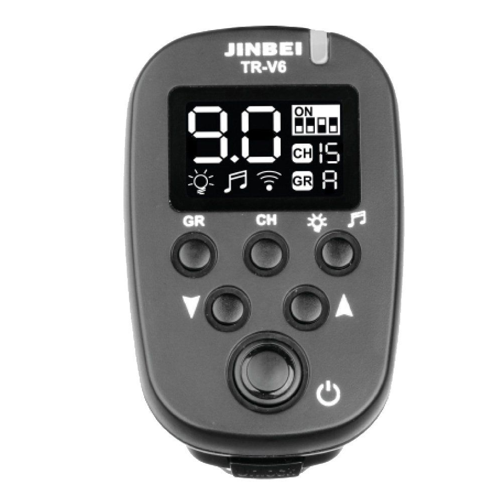 Jinbei TR V6 2 4GHz Wireless Transmitter for Canon Nikon Sony Olympus Camera