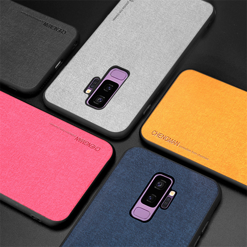 High Quality Luxury Soft TPU Silicone Phone Case For Samsung Galaxy s8 s9 Plus Case Cover For Samsung s8 s9 s10 Plus Back Cover in Fitted Cases from Cellphones Telecommunications