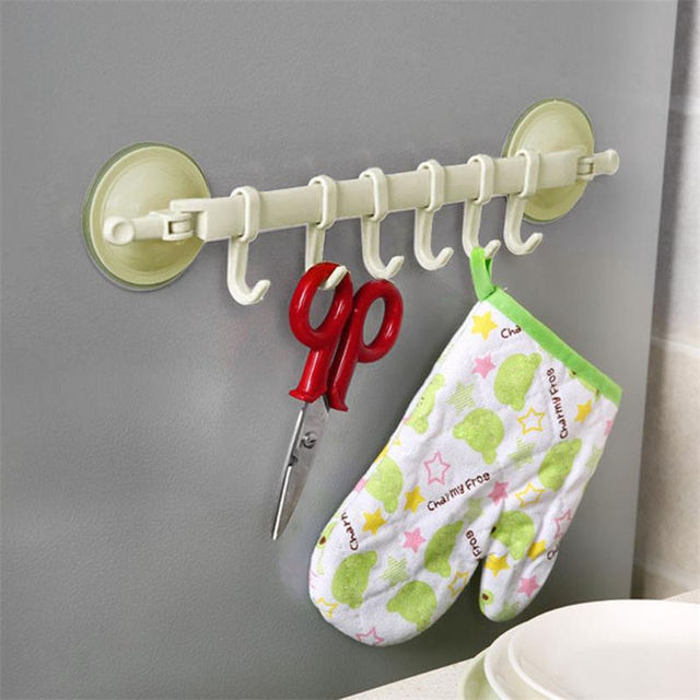 Top Quality Potere Cena Vuoto Ventosa Stand Hook Hanger Accessori Per il Bagno T