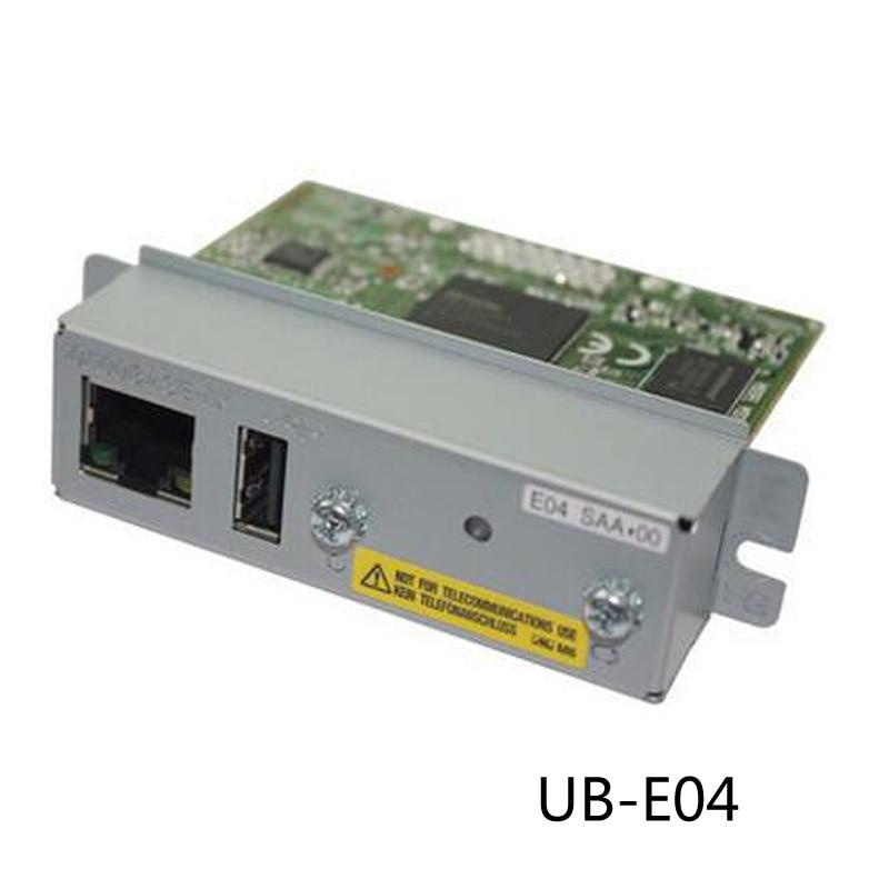 Vilaxh For Epson TM U220B e03 e04 1pcs used Ethernet interface For Epson 220PB 220PD 220PA TMT81 T70 T90 T86L T82V printer partsVilaxh For Epson TM U220B e03 e04 1pcs used Ethernet interface For Epson 220PB 220PD 220PA TMT81 T70 T90 T86L T82V printer parts