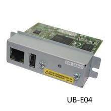 Vilaxh For Epson TM U220B e03 e04 1pcs used Ethernet interface For Epson 220PB 220PD 220PA TMT81 T70 T90 T86L T82V printer parts original new ps 180 ac adapter ps 170 power supply for epson t88v t90 t90p u220a u220b u220d u220pa u220pb u220pd u230 u230p