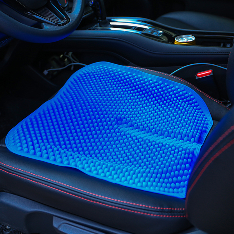 silicone car seat cushions mat breathable massage for kia carens carnival cerato forte k2 k3 k7. Black Bedroom Furniture Sets. Home Design Ideas