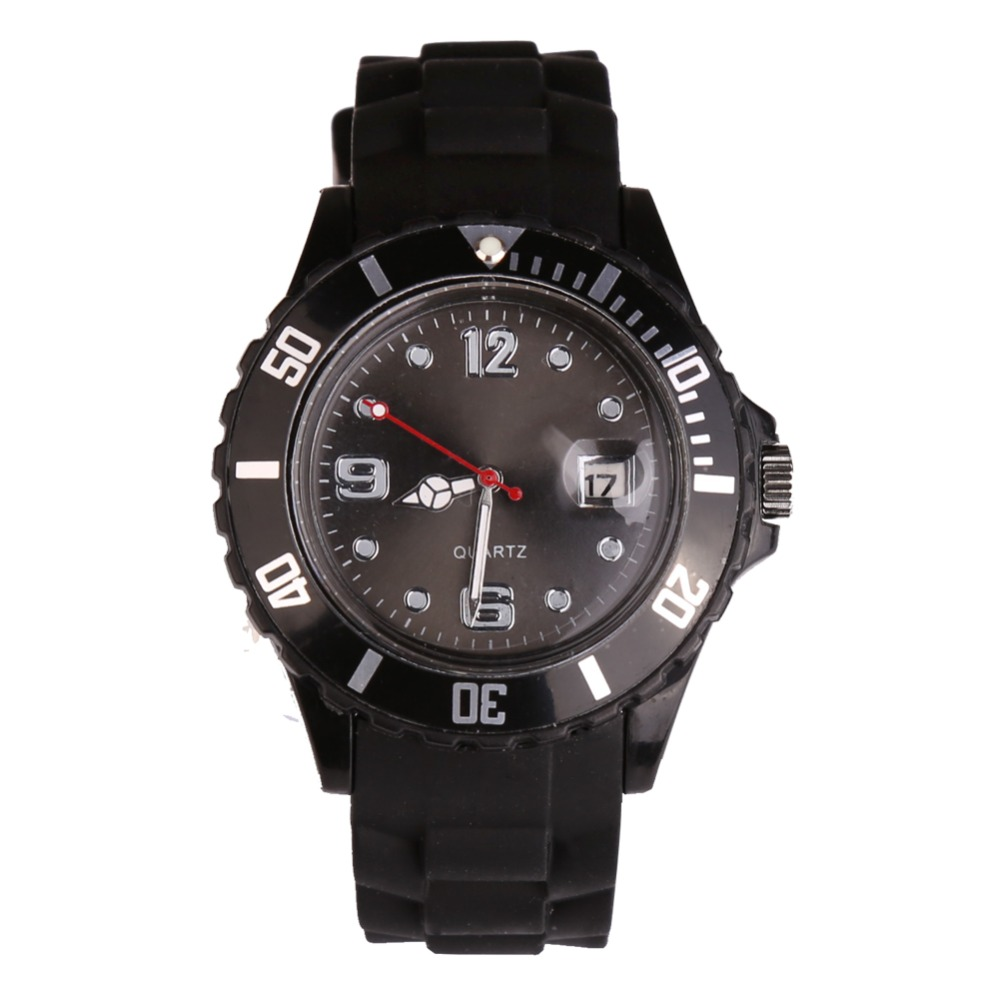 Fashion New Unisex Women Wristwatch Quartz Watch Silicone Sports Women Watch Candy Color Reloj Mujer Kol Saat Female Clock Black new fashion unisex women wristwatch quartz watch sports casual silicone reloj gifts relogio feminino clock digital watch orange