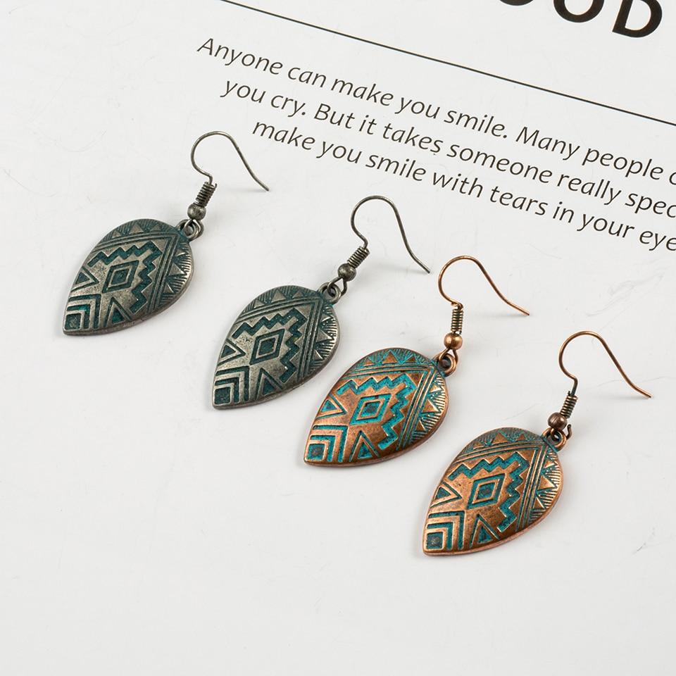 Boho Ethinic Dangle Drop Earrings Hanging for Women  2