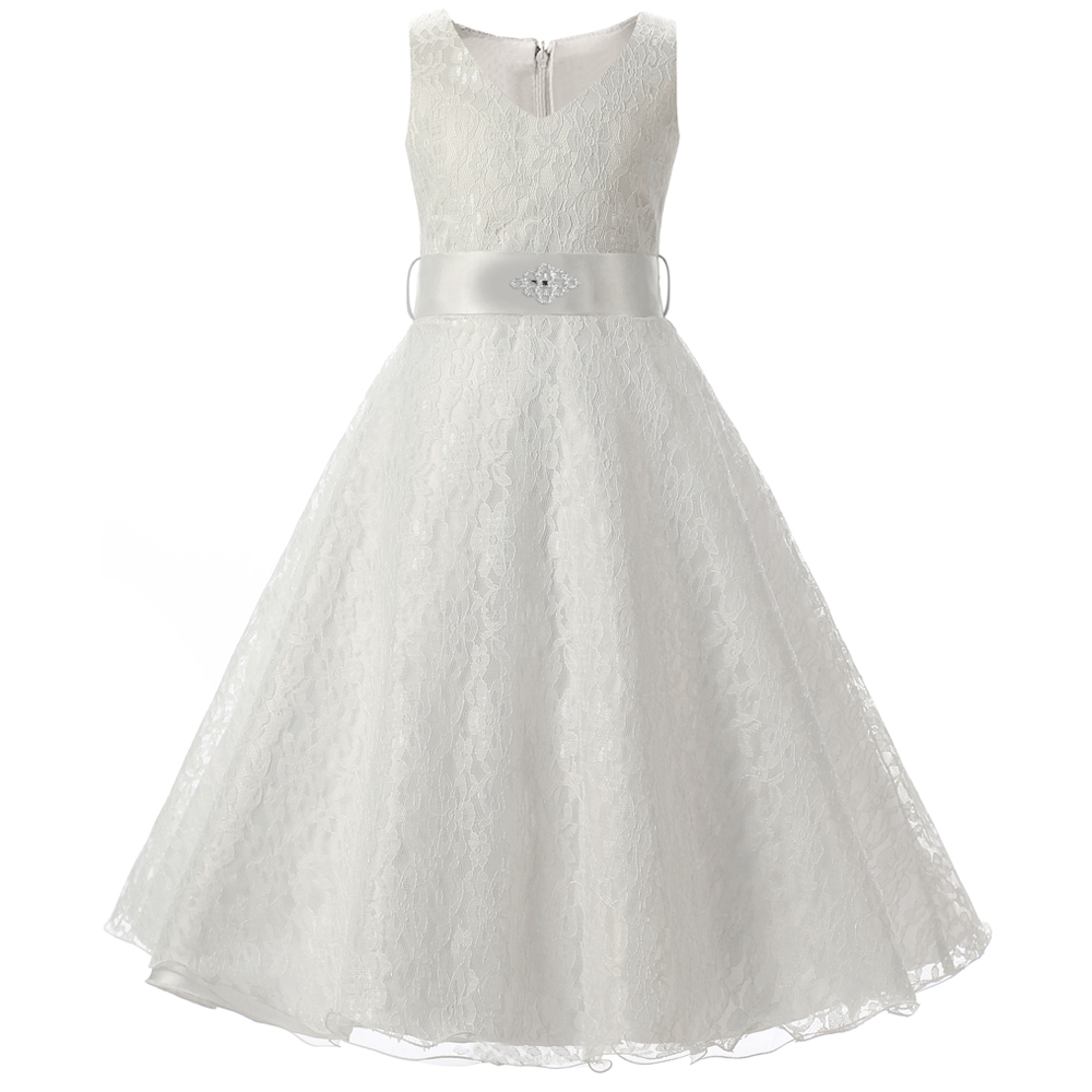 Teenage Girl Dress For Kids Wedding Ceremonies Party Wear Children - Wedding Dresses For Teenage Girl