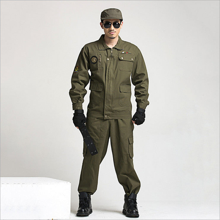 2018 Wholesale Special forces Camouflage Suit paintball equipment Military combat uniform Sets Working Uniform ...