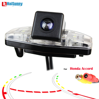 HaiSunny Smart Dynamic Track Reverse Parking Camera For Honda Accord 7 (2003 2007)2008 2009 2010 Rear View CCD Camera Camera