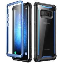 Per Samsung Galaxy Note 8 Caso Originale i Blason Ares Serie Full Corpo Robusto Trasparente Della Cassa Del Respingente con built in Protezione Dello Schermo