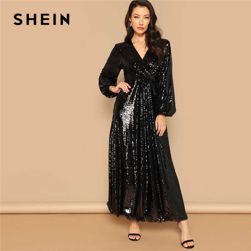 be988522c7ded Detail Feedback Questions about SHEIN Going Out Silver Bishop Sleeve ...
