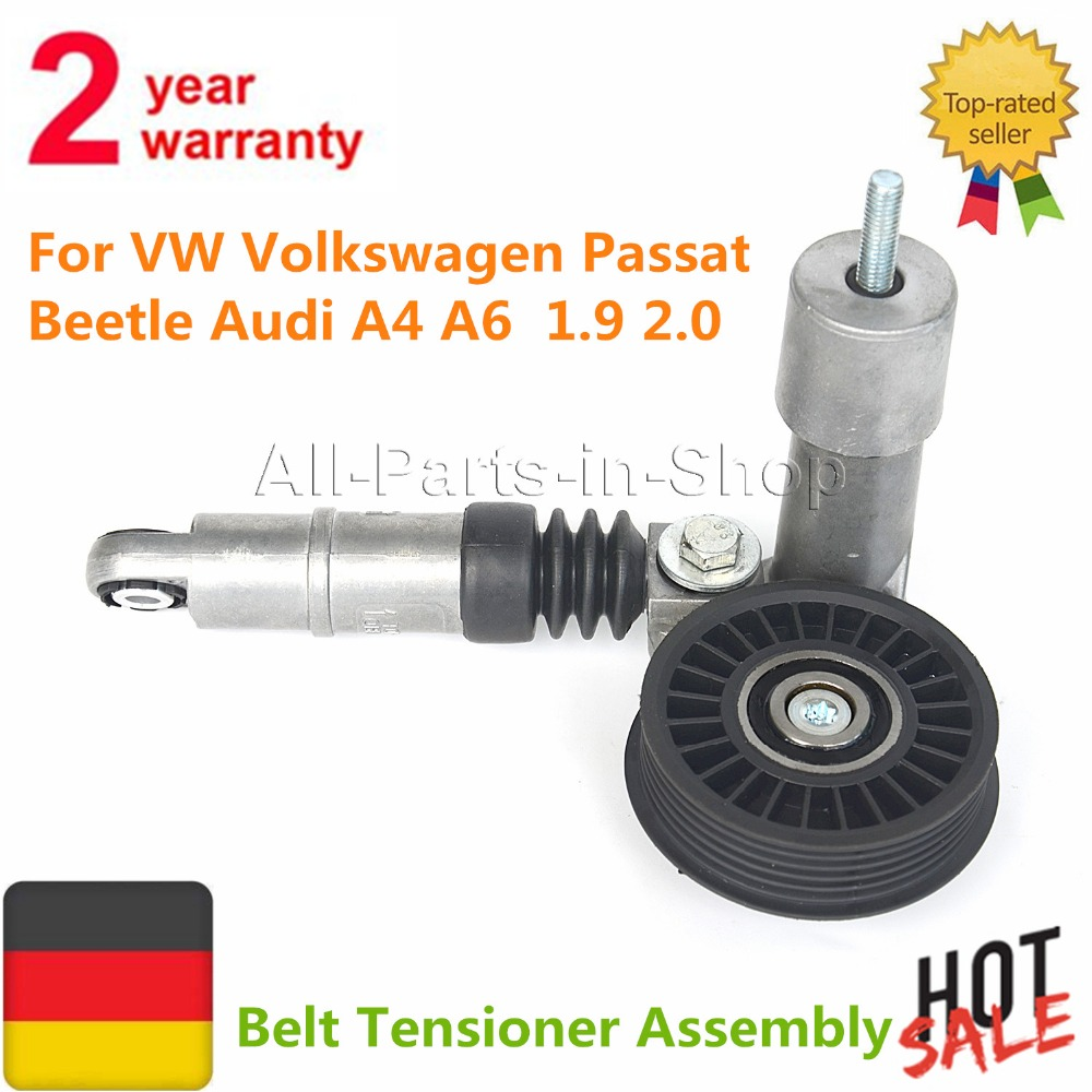 AP01 Belt Tensioner Assembly  For Beetle Audi VW Volkswagen Passat 1999-2006 Diesel 038145283A 038903315D 038903315P 1.9 TDI 2.0