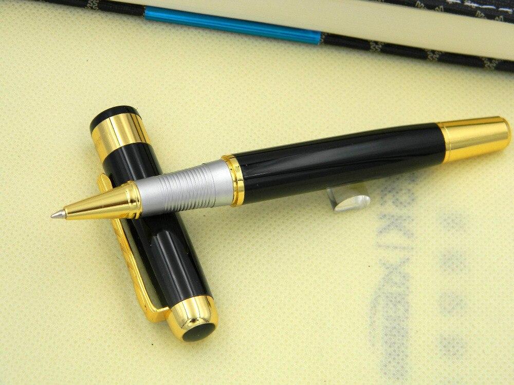 Best дизайн 250 черный и серебристый зажим металла Ручка-роллер Горячий