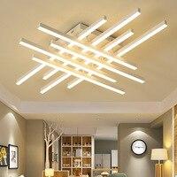 Творческая линия современные потолочные свет затемнения светодиодный потолочный светильник белый Потолочный настенный светильник для Го