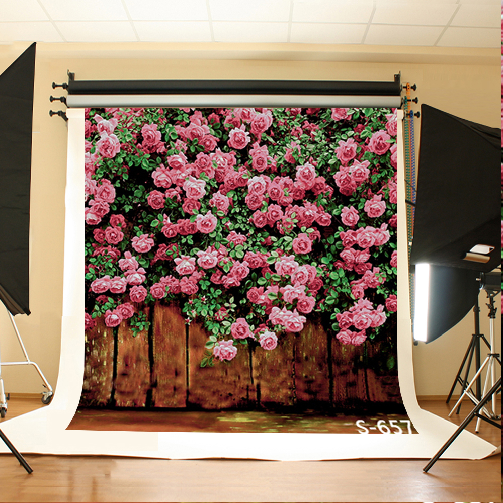 Wedding Photography Background Brown Ground Birthday Background Pink Flowers Green Leaves Backdrops for Photographic Studio for volvo xc60 abs chrome front