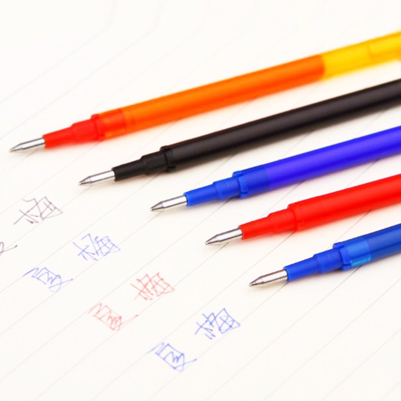 Hot Sale 0.5mm Writing Point Refill Erasable Pen Refill for Ballpoint Pens Office & School Writing Supplies for Student Officer