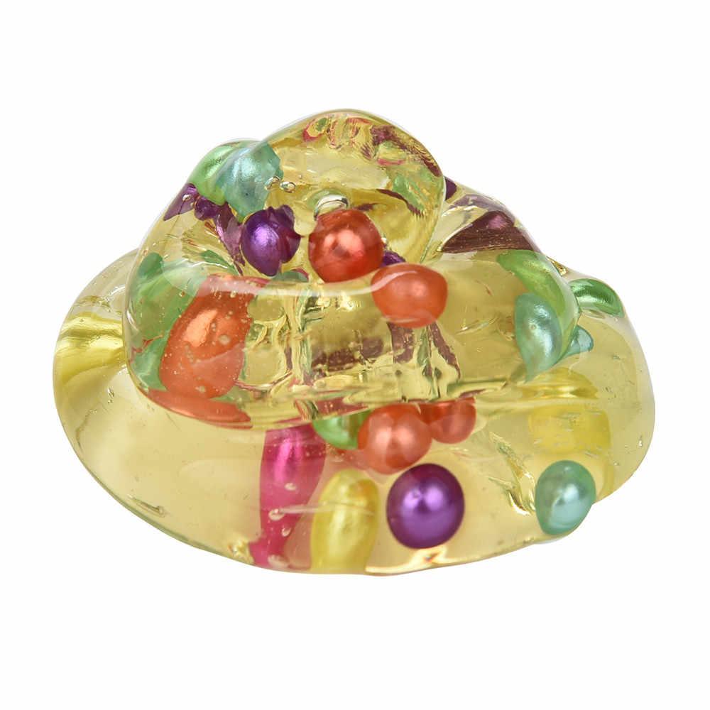 HIINST antistress slime Fango Perla Uovo Colorato Morbido Giocattoli Stress Relief Toy Fanghi di Melma ap19m30 dropship