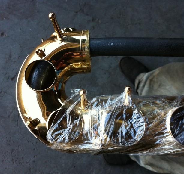 Musical Instrument Repair Tools Saxophone Neck Bent At Sag Repair