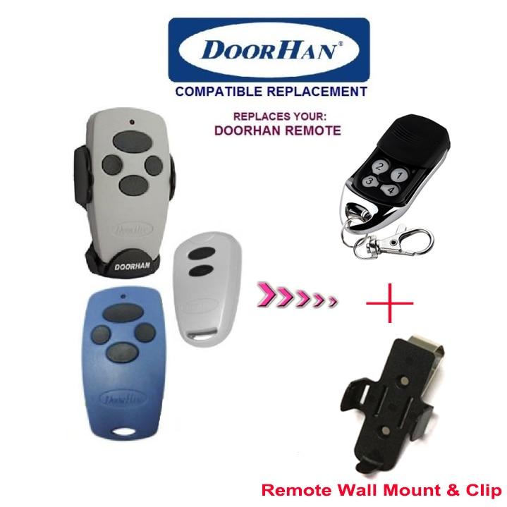 After market doorhan remote, doorhan garage door remote replacement rolling code top quality