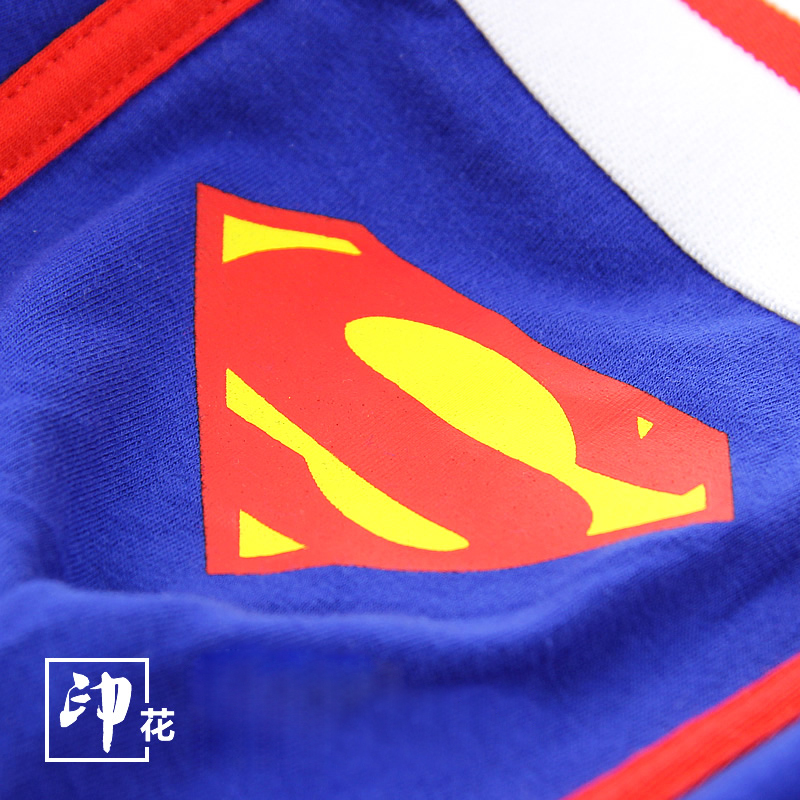 Superman Combed Cotton Breathable Low-waist Men Underwear Marval Cartoon Men Cueca Boxer Hombre Student Sexy Movie Men Underwear #6