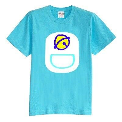 Детская футболка лето с коротким рукавом 100% хлопок девочка и мальчик детские футболки Викинг джингл кошки doramon 8 цвета
