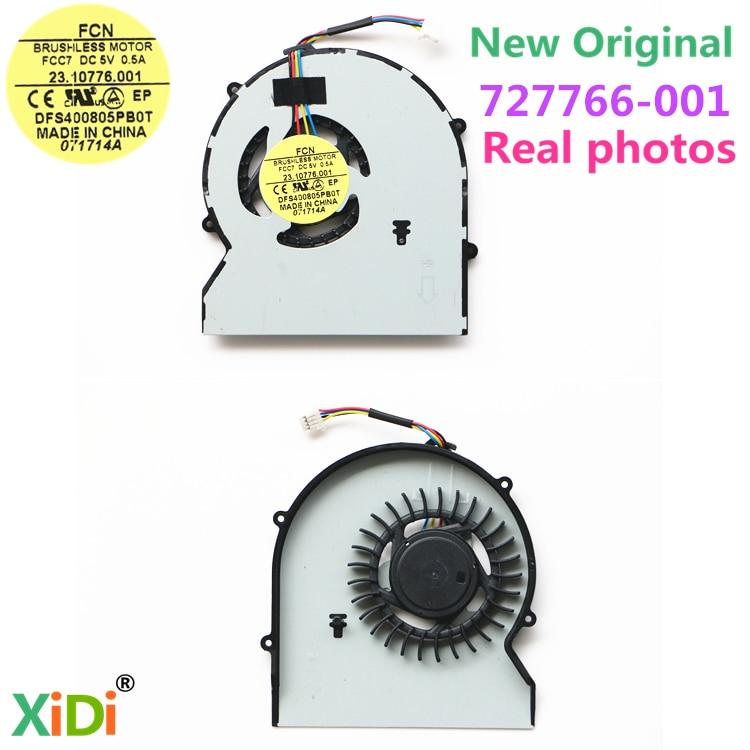 NEW Original CPU FAN FOR HP ProBook 430 G1 430G1 470 727766-001 CPU COOLING FAN FCC7 23.10776.001 cooling fan for ml370g4 224977 001 original 95