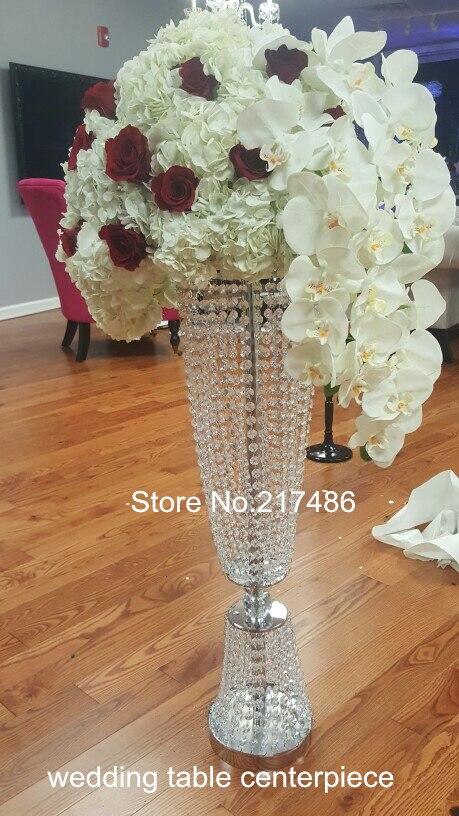 Crystal Vase Centerpieces For Wedding Table Decoration Wedding