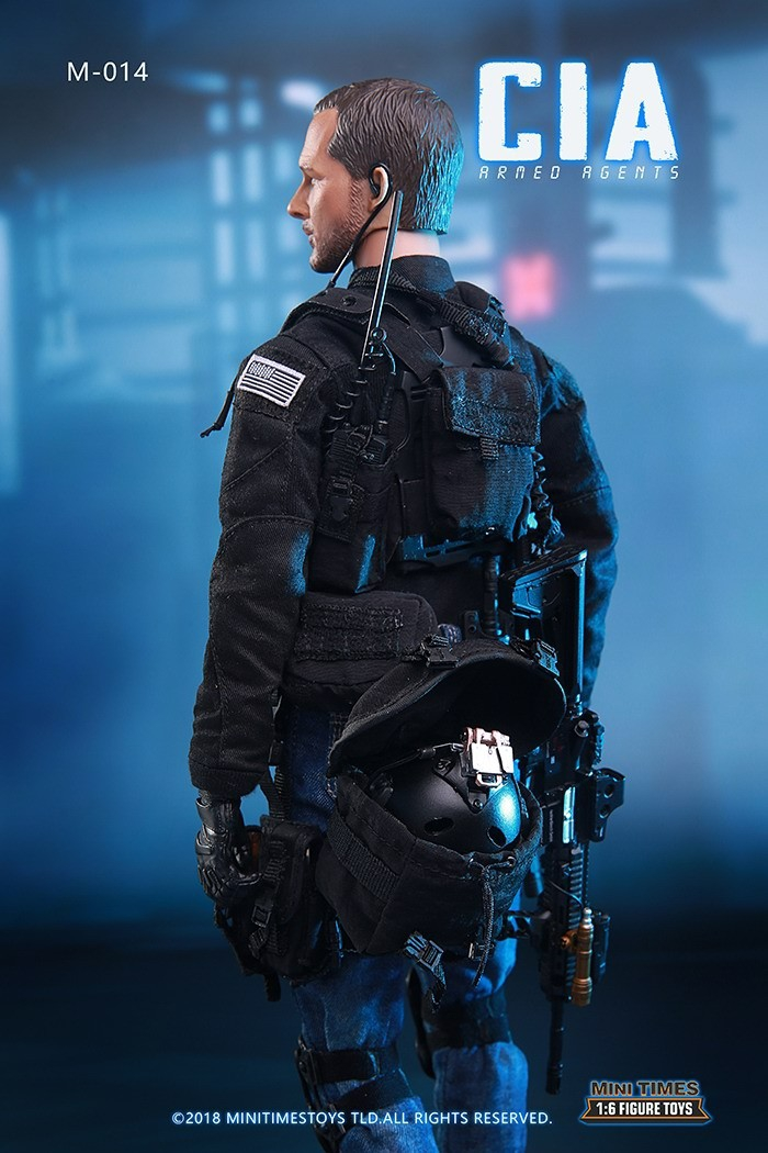"Mini Times toys MT-M014 1//6 CIA Armed Agent Tactical Vest Model For 12/"" Figure"