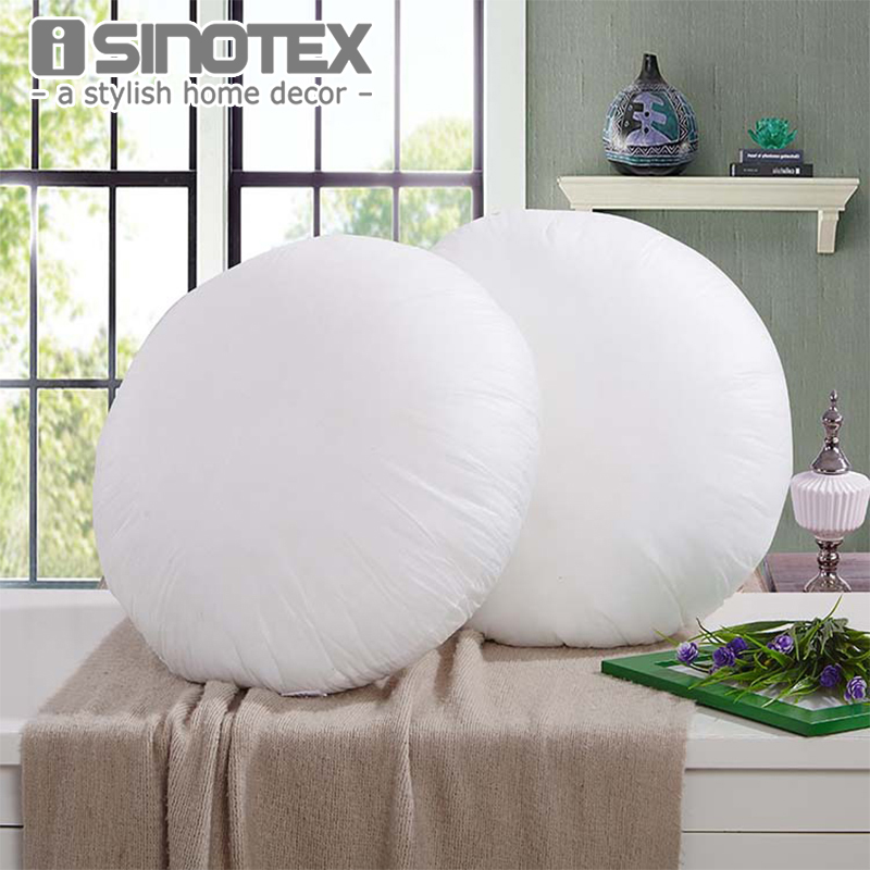 Non Woven Fabrics Throw Pillow Inner Round For Cushion Insert Filling Pillow  Filler Sofa Decorative Decor Home Soft 3 Sizes