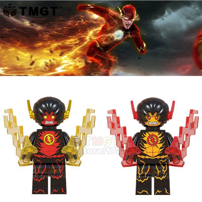 Single sale super hero legoings the flash reverse flash daniel west futures end figures building - Flash le super heros ...