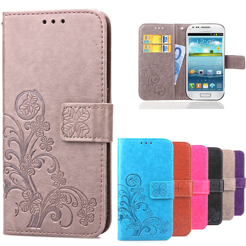 S3 Mini i8190 Flip Case S3 i9300 Wallet Leather Cover For Coque Samsung Galaxy S3 Mini / S 3 Neo/Duos Luxury Silicon Phone Cases