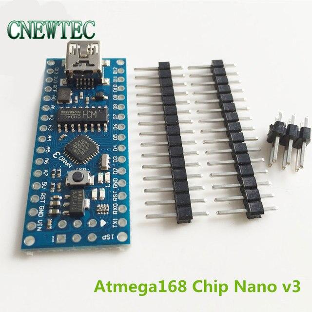 f51d5e529b4 Nano V3 ATmega168, CH340, mini USB, Compatible for Arduino Nano V3.0 ...